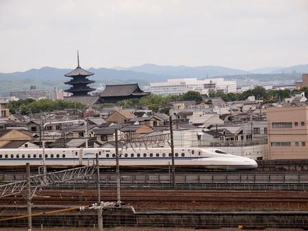 N700系のぞみ  東海道新幹線京都~新大阪02
