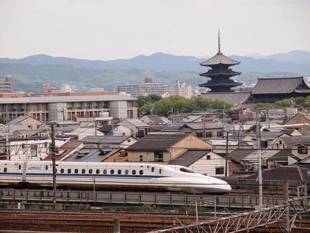 N700系のぞみ  東海道新幹線京都~新大阪03