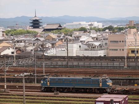 EF66 梅小路貨物駅01