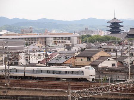 683系特急サンダーバード 東海道本線京都~西大路