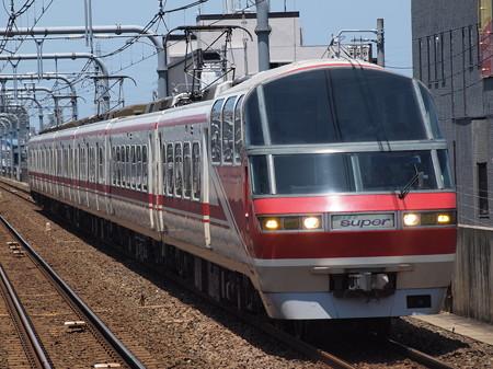 名鉄1000系特急 名鉄常滑線柴田駅01