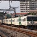 写真: 185系湘南ライナー 東海道本線戸塚駅01