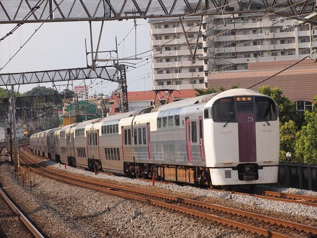215系湘南ライナー 東海道本線戸塚駅01
