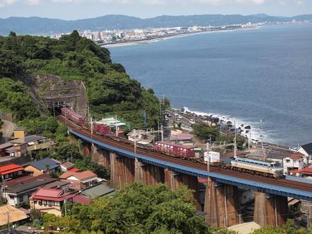 EF66貨物 東海道本線早川~根府川