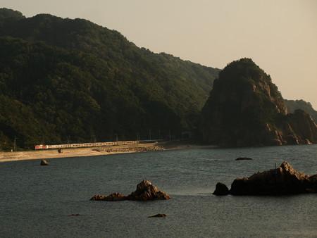 EF81カシオペアクルーズ 羽越本線今川~越後寒川02