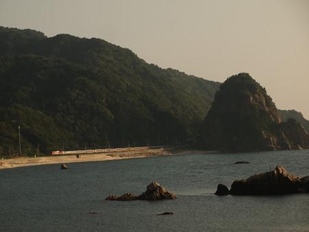 EF81カシオペアクルーズ 羽越本線今川~越後寒川03
