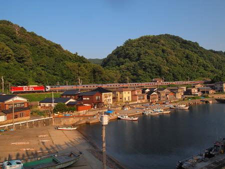EF81カシオペアクルーズ 羽越本線今川~越後寒川08