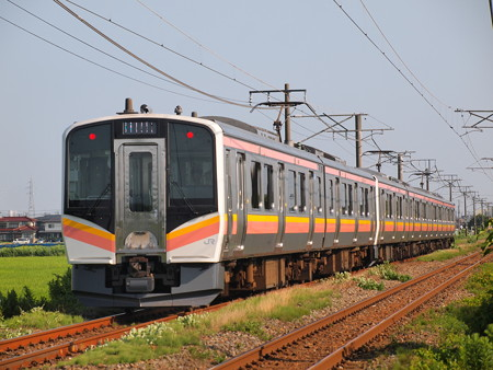 E129系普通  信越本線荻川~さつき野04