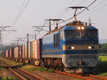 EF510貨物 信越本線さつき野~荻川