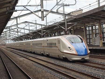 E7系かがやき 上越新幹線熊谷駅