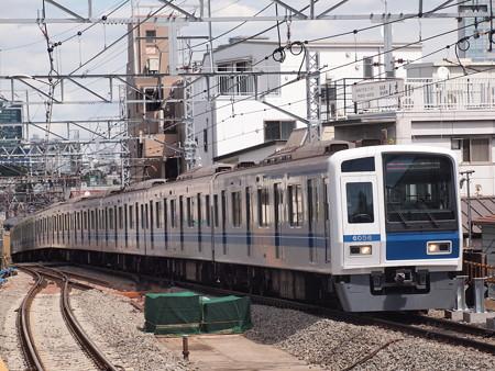 西武6000系Fライナー 東急東横線祐天寺駅