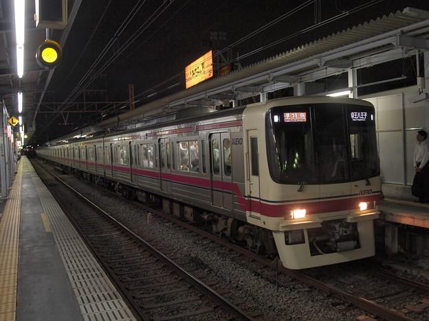 京王8000系準特急 京王線明大前駅01
