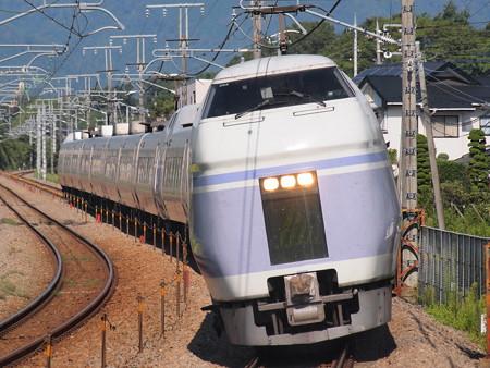E351系特急スーパーあずさ中央本線韮崎~塩崎05
