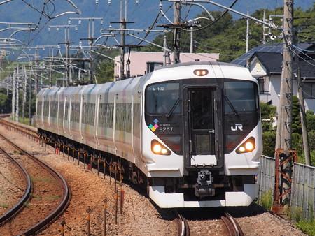 E257系特急あずさ中央本線韮崎~塩崎07