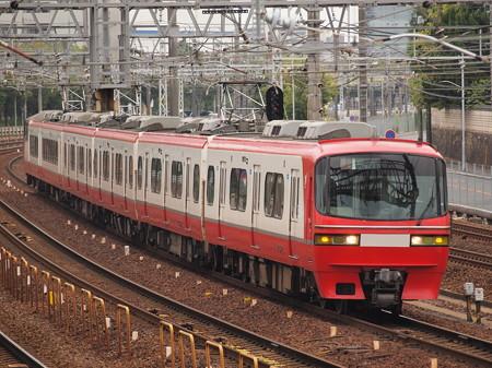 名鉄1000系特急 名古屋本線神宮前~熱田02