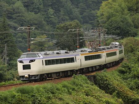 485系いろどり木曽路号 中央本線倉本~須原03
