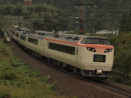 485系いろどり木曽路号 中央本線大桑~須原03