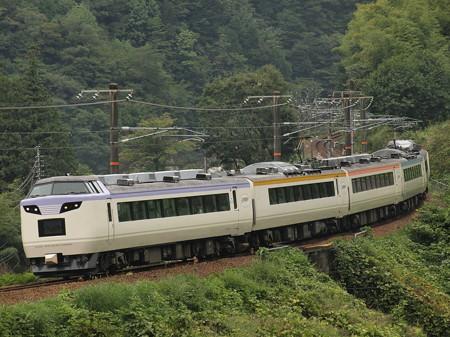 485系いろどり木曽路号 中央本線倉本~須原04