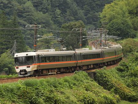 383系ワイドビューしなの  中央本線倉本~須原03