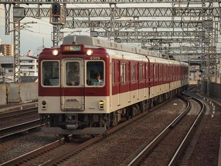 近鉄6200系急行 近鉄南大阪線今川駅