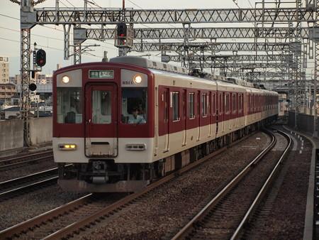 近鉄6400系準急 近鉄南大阪線今川駅02