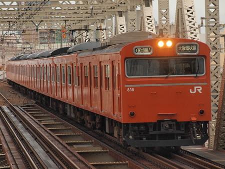 103系普通   大阪環状線大正駅02