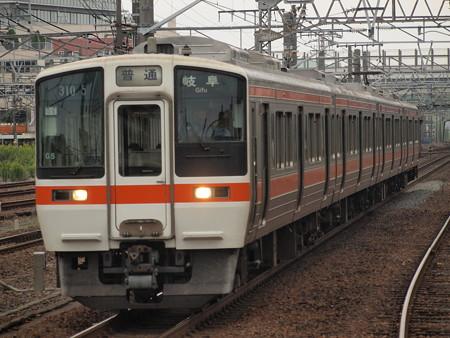 311系普通 東海道本線神宮前駅