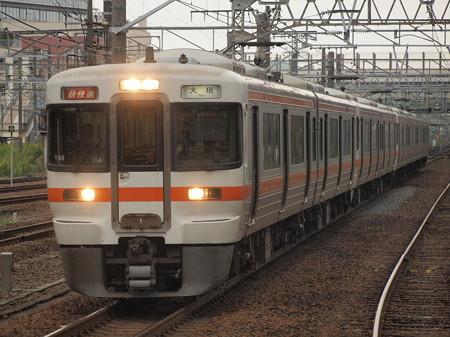 313系新快速   東海道本線神宮前駅02