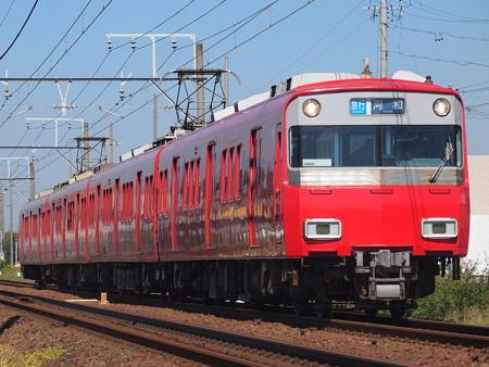 名鉄6500系急行 名鉄犬山線西春~上小田井