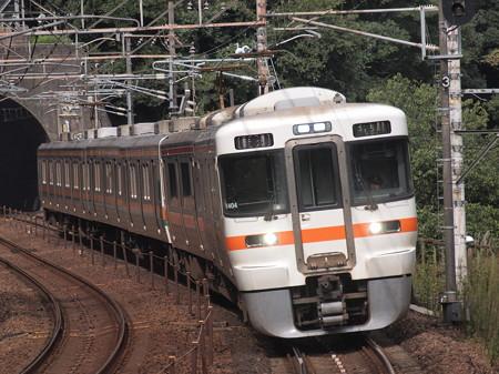 313系普通 中央本線古虎渓駅01