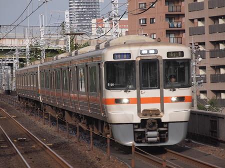 313系快速 中央本線鶴舞駅