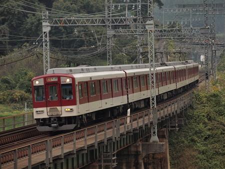 近鉄1400系急行 近鉄大阪線三本松~室生口大野03