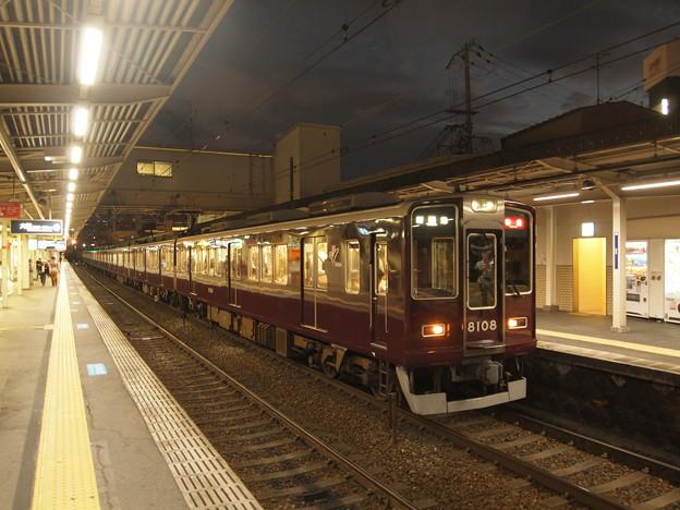 阪急8000系特急  阪急神戸線十三駅04