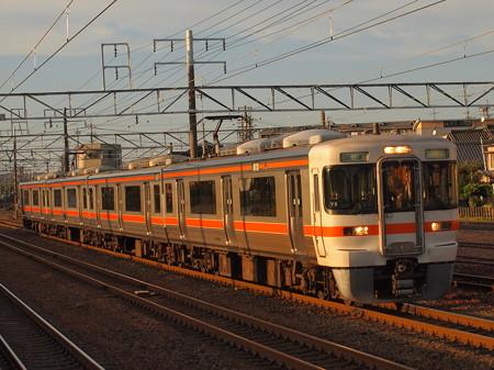 313系回送 東海道本線清洲駅