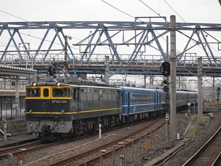 EF65 SL北びわこ回送 北陸本線米原駅