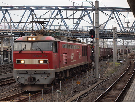 EF510貨物 北陸本線米原駅