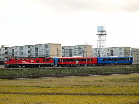 EF510  EV-E801系甲種東海道本線高槻~島本01
