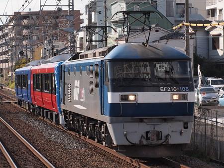 EF210 EV-E801系甲種東海道本線甲南山手駅01