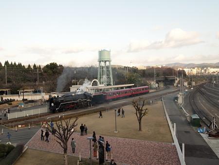 C62 SLスチーム号 京都鉄道博物館01