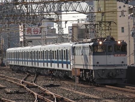 EF65 3000V形甲種 東海道本線浜松駅01