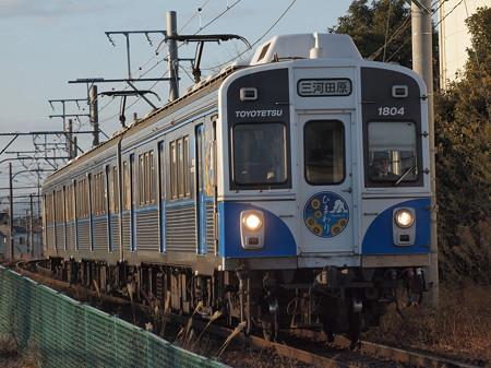 豊橋鉄道1800系 渥美線新豊橋~柳生橋