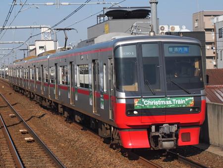 名鉄3300系普通 名鉄常滑線柴田駅