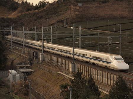 700系こだま  東海道新幹線掛川~静岡01