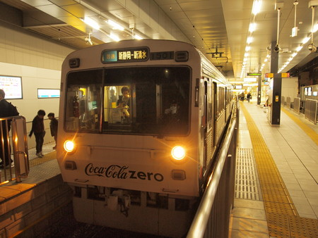 静岡鉄道1000形  新静岡駅02