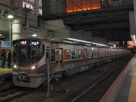 323系普通  大阪環状線大阪駅01