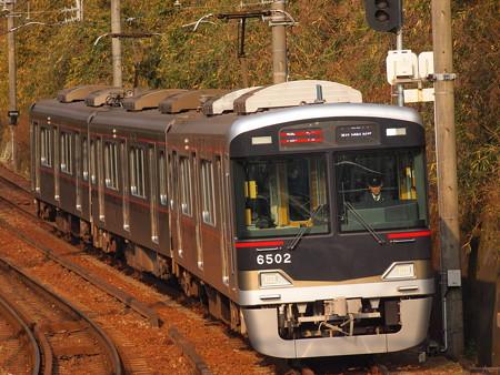 神鉄6500系急行 神鉄有馬線鵯越駅02