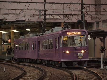 嵐電モボ501形 嵐電本線帷子ノ辻~太秦広隆寺