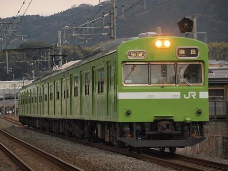 103系普通   奈良線稲荷~JR藤森02