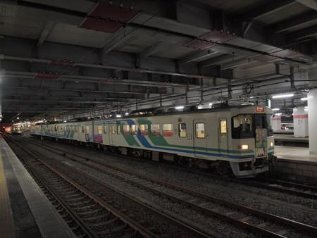 阿武隈急行8100系普通 東北本線仙台駅01