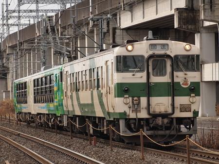 キハ48風っこ返却回送 東北本線西那須野~那須塩原01
